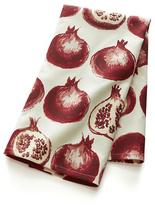 Crate & Barrel Pomegranate Dishtowel