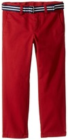 Polo Ralph Lauren Belted Stretch Cotton Chino Pants Boy's Casual Pants