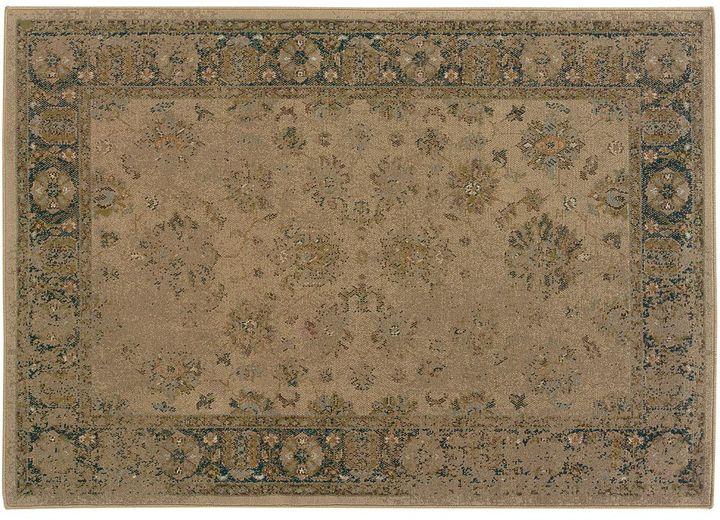 """Oriental weavers chloe framed rug - 7'10"""" x 10'10"""""""