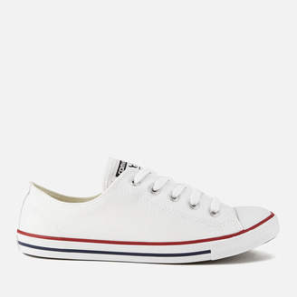 Converse Chuck Taylor All Star Dainty Ox Trainers - White