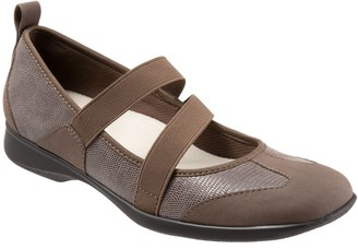 Trotters Contasting Texture Mary Janes - Josie
