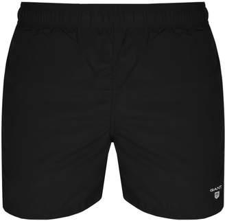 Gant Classic Fit Swim Shorts Black