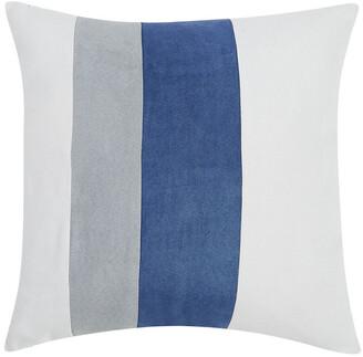 London Fog Newport Stripe Microsuede 4Pc Comforter Set