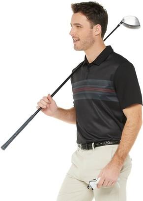 Tek Gear Men's Regular Fit Striped Golf Polo