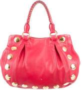 Miu Miu Studded Leather Bag