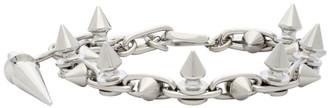 Junya Watanabe Silver Stud Bracelet