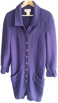 Karl Lagerfeld Paris Purple Wool Knitwear for Women Vintage