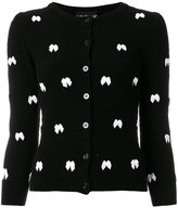 Moschino bow embellished cardigan