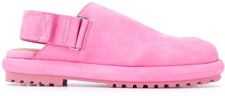 Jacquemus Slingback Leather Loafers