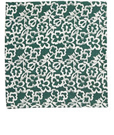 Barneys New York MEN'S FLORAL WOVEN POCKET SQUARE