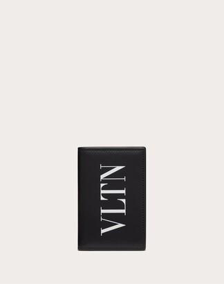Valentino Uomo Vltn Cardholder Man Black 100% Pelle Bovina - Bos Taurus OneSize