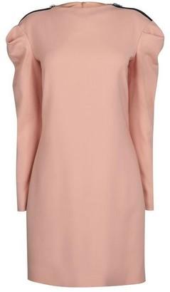 Victoria Victoria Beckham Tuck shoulder shift dress