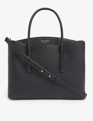 Kate Spade Margaux logo-embossed small leather bag