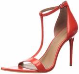BCBGMAXAZRIA Women's Danielle Ankle Strap Sandal Pump