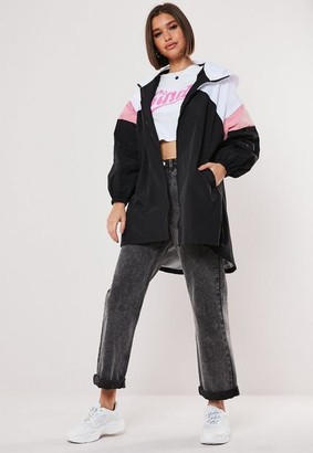 Missguided Colorblock Windbreaker Jacket