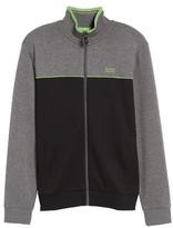 BOSS GREEN Men's Skaz Full Zip Fleece Jacket