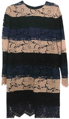 MSGM Blue Lace Dress for Women