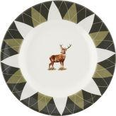 Spode Glen Lodge Stag Argyle Bread Plate