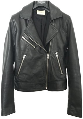 Levi's Made & Crafted Black Leather Leather Jacket for Women