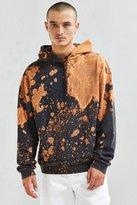 Urban Outfitters Malone Bleach Dye Hoodie Sweatshirt