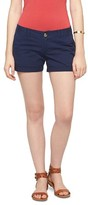 Mossimo Women's Low Rise Midi Short Juniors')