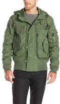 Alpha Industries Men's Helo Water-Resistant Rain Jacket