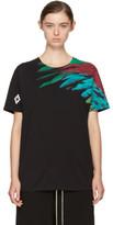 Marcelo Burlon County of Milan Black Jer T-shirt