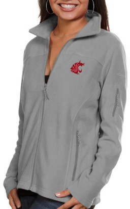 Washington State Cougars Columbia Women's Give & Go Full-Zip Jacket - Gray