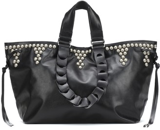 Isabel Marant Wardy Large leather tote