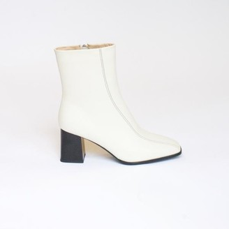 Collection & Co - Roka Boot Off White - 35 / Off-white