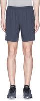 Falke Sports Reflective logo print performance running shorts