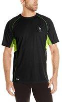 U.S. Polo Assn. Men's Raglan Performance Mesh Feel Dry T-Shirt