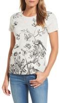 Lucky Brand Women's Floral Print Tee