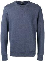 A.P.C. 70 Marl sweatshirt - men - Cotton/Acrylic/Polyester/Viscose - L