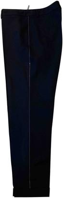 Fabiana Filippi Blue Wool Trousers for Women