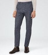 Reiss Turner T Flecked Slim Trousers