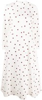 Ganni Polka Dot Print Shirt Dress