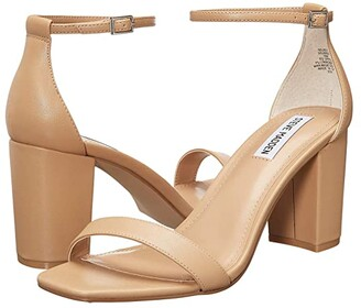 Steve Madden Delrey Heeled Sandal (Black) Women's Shoes