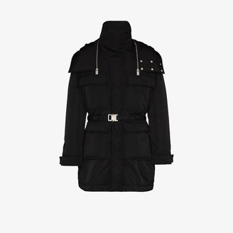 Alyx Belted-Waist Hooded Parka Coat