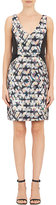 Barneys New York WOMEN'S ABSTRACT PAINT-PRINT DORI DRESS