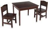 Kid Kraft Charleston Table & Chair Set - Espresso