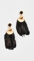 Lizzie Fortunato Eagle Earrings