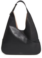 Louise et Cie Large Sonye Leather Hobo Bag - Black