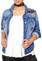 Addition Elle Love And Legend Patchwork Denim Jacket