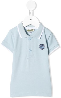 Kenzo Kids Embroidered Short-Sleeved Polo Shirt