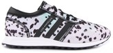 adidas Leopard-Print Lace-Up Los Angeles Trainers