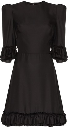 The Vampire's Wife Frilled Festival Mini Dress