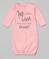 Pink 'Wish Came True' Gown - Infant