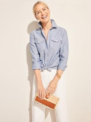 J.Mclaughlin Astrid Chambray Shirt