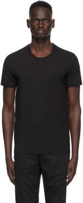 Dolce & Gabbana Black Jersey T-Shirt